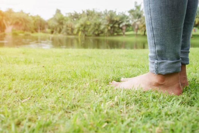 plesen na nohach