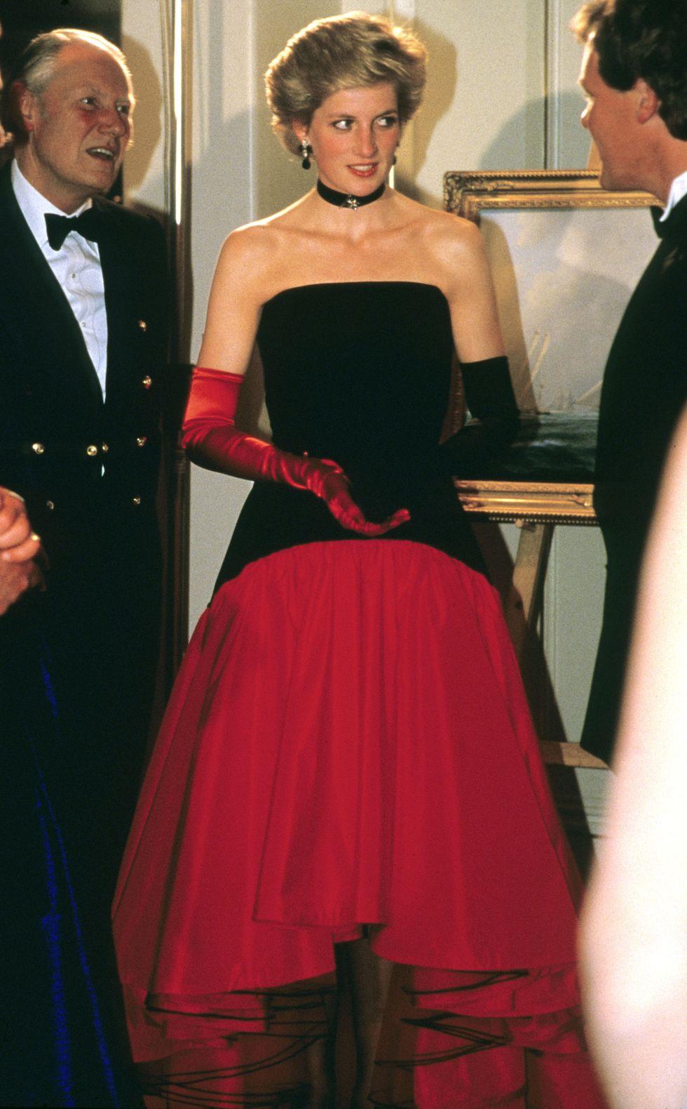 rukavice 10 nenápadných fashion trikov princeznej Diany